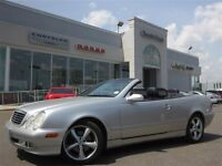 2002 Mercedes-Benz CLK320 Convertible Leather Alloys Htd Frt Sea