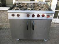 Moorwood Vulcan MV2RGP 6 Burner Catering cooker Gas Oven Range