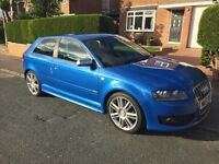 Audi s3 sprint blue fsh 2008 timing belt replaced