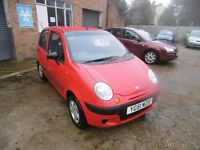 Daewoo Matiz, 2001, cheap car, 0.8L, July 2017 MOT