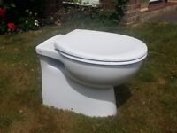 Pura Imex back-to-wall toilet pan with seat