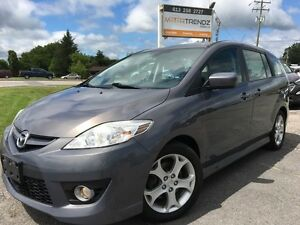 2010 Mazda Mazda5 GT Loaded with Sunroof and Heated Leather S...