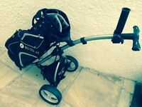 Motocaddy s1 Lite Trolley with Hybrid Stand/Carry/Cart Bag