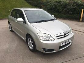 **TOYOTA COROLLA COLOUR COLLECTION 1.4 PETROL 5DR HATCHBACK (2007 YEAR)**