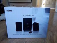 SWEEX 2.1 SPEAKER SET L@@K!!!