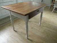 Country Pine Kitchen Table 112cm x 80cm x 80cm