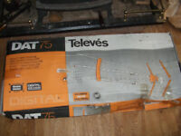 Clearance Cheap NEW Boxed DIGITAL TV AERIAL antenna Roof Camper Van Motorhome Office spares repair