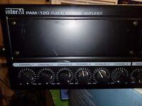 InterM PAM-120 Public Address Amplifer AMP 120W