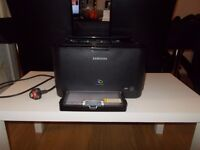 Samsung Colour Laser Printer CLP315W - with toners still in printer (getting low)