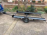 Mini car trailer perfect for mini stock banger classic