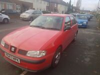 Seat ibiza 1.4l chep to insurence and petrol