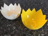 Really Handy Silicone Egg Poachers