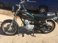 YAMAHA SR125 MANUAL (green) 1992
