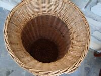 # # LARGE WICKER BASKET WITH HANDELS ONLY £10 # # #
