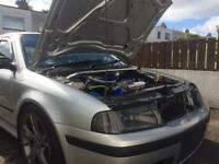 Skoda Octavia mk1 rs turbo . Big spec .250 bhp long mot ( not golf gti seat Audi vrs type r 1.8