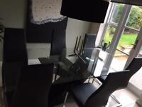 Barker & Stonehouse Table & 6 Chair