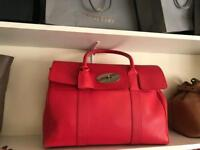 Genuine Mulberry Red Bayswater
