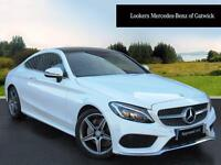 Mercedes-Benz C Class C 220 D AMG LINE PREMIUM PLUS (white) 2016-05-31