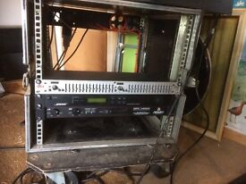 Used Flight Case to fit rack mount amps etc