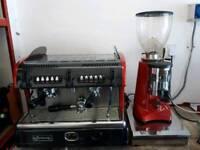 Coffee Machine and grinder La spaziale S5.