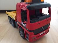 Bruder Mercedes recovery truck