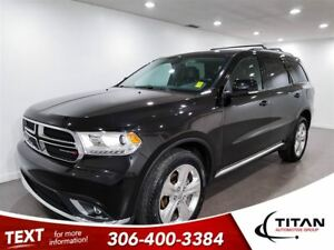 2015 Dodge Durango Limited|Low Kms|Local Trade|PST Paid