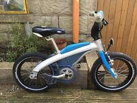 BMW Childs Push-Bike, Good Condition, Comes with Pedals & Chain Attachment.