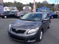 2009 Toyota Corolla CE, LOW KMS, NEW SAFETY, A/C, KEYLESS ENTRY