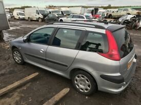 Peugeot 206 estate breaking parts available
