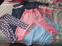 Large selection of baby girls clothing 9-12mths