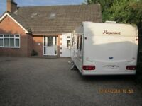 ☆ BAILEY PAGEANT BORDEAUX ☆ FIXED BED CARAVAN ☆ 2 AWNINGS ☆ 4 BERTH ☆ 2003