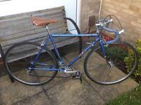 Vintage Ernie Clements Falcon road/tourer bike