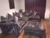 Arighi branching corner sofa/settee/couch