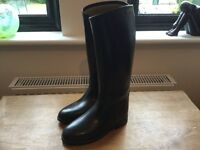 Childs long riding boots