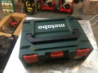 SPECIAL OFFER!! Metabo Cordless Hammer Drill with Carry Case, Drumaness, Ballynahinch