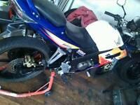 Honda cbr 125 rs6