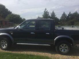 Ford ranger xlt 4x4 2005reg 59000 miles NO VAT £6500