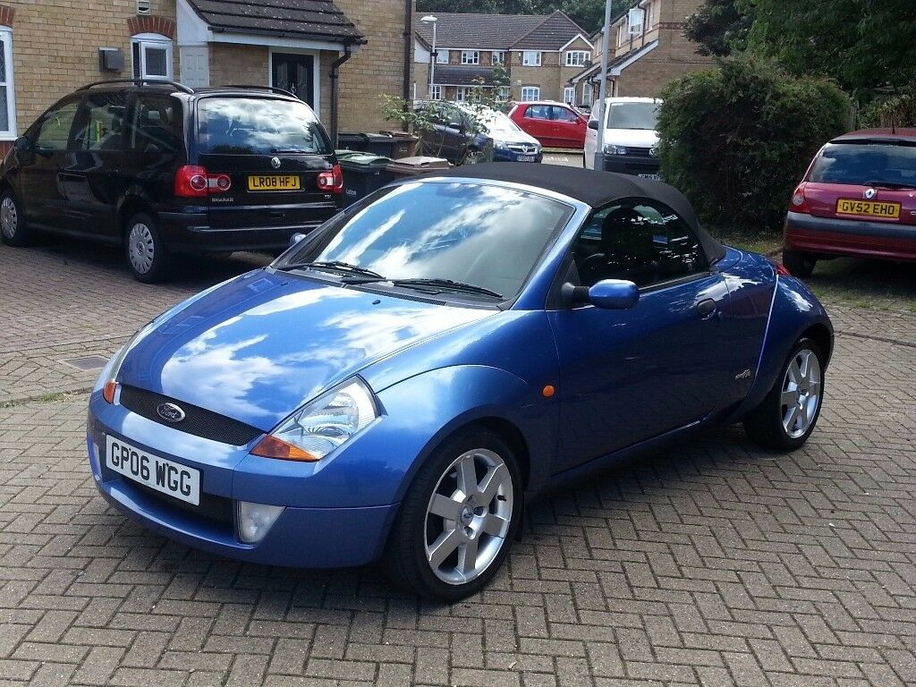 Immaculate Ford KA Convertible Roadster 16 Drives Like New Leathers Nippy Fun Motor