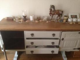 Beautiful French vintage sideboard