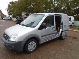 Ford transit 1.8 tdci Full Mot + 2keys 6 stamps + Private Use +Ply Lined + No Vat