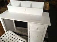 Childs Desk / Dressing Table - As New Condition