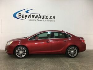 2013 Buick Verano Leather Package - 6SPD! PUSH START! HTD SEA...