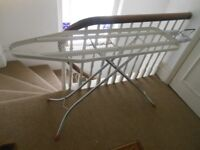 Excellent Brabantia ironing board metal mesh easy ironing iron rest adj height non slip feet RP£65
