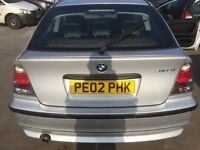 BMW 316ti compact automatatic petrol low miles