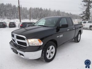 2016 Ram 1500 Quad Cab 4X4 w/6.3' Box, 5.7L V8 Gas, 44,236 KMs