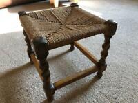 Vintage stool. Very sweet