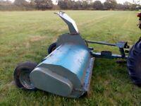 Flail mower harvester topper.