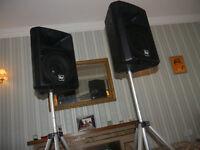 ELECTRO VOICE Sx300W speakers