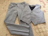 Boys teousers and waistcoat H&M age 9-10