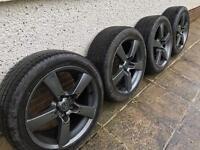 Mazda Bongo/MX8 Rims & tyres - exc condition